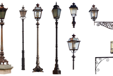 Decorative wall lights, lamps and lanterns